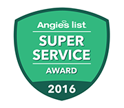 Super Service Award 2016 logo