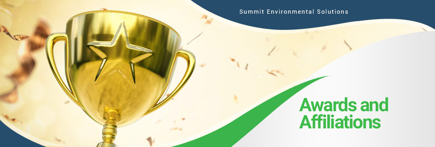 Awards & Affiliations For Summit Environmental Solutions