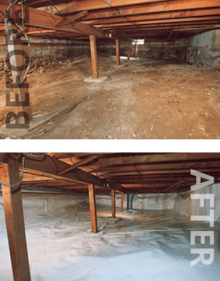 WET BASEMENTS CAN BE A BIG MESS!
