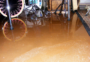 When your basement floods | Say YES to SES